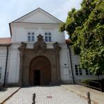 Zámek Vizovice - hlavní brána