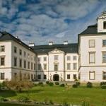 Zámek Vizovice- pohled od galerie